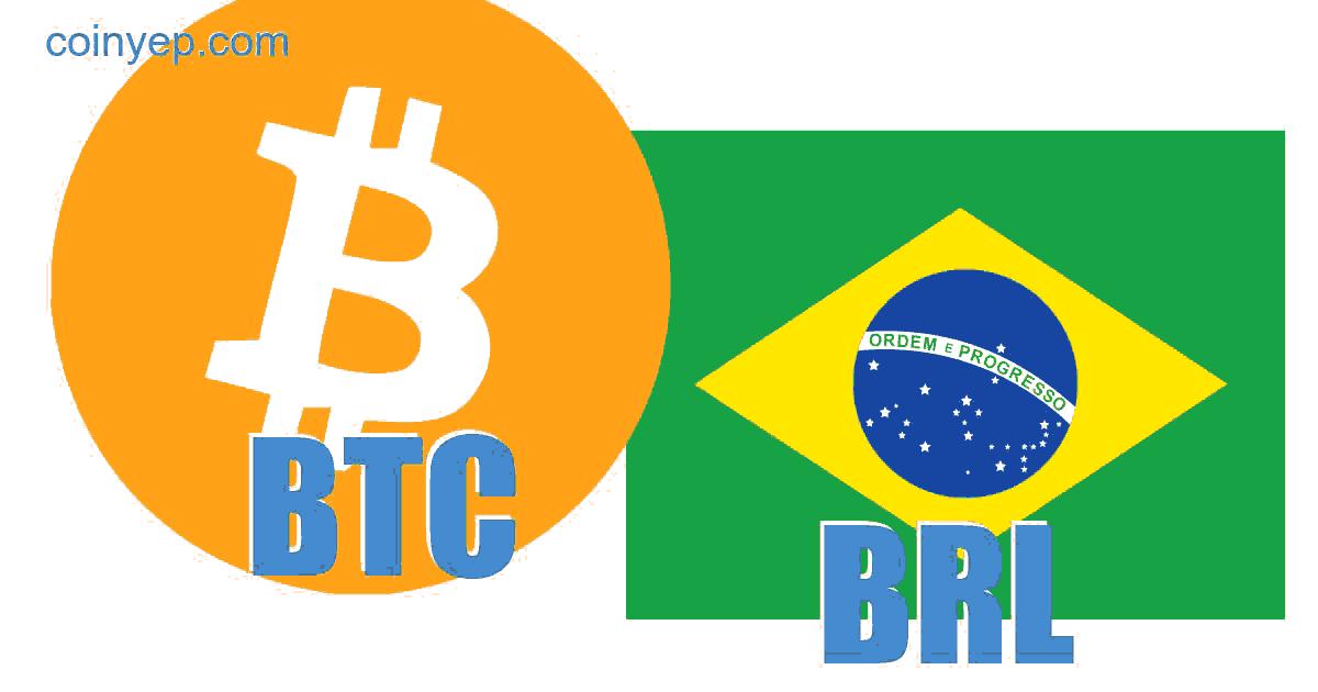 BTC į BRL - Bitcoinas į Brazilijos realas valiutos keitiklį