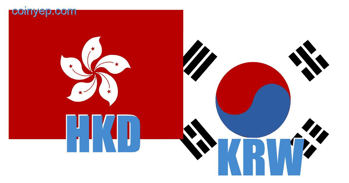 438 HKD Hong Kong Dollar to KRW South Korean Won exchange rate chart analysis
