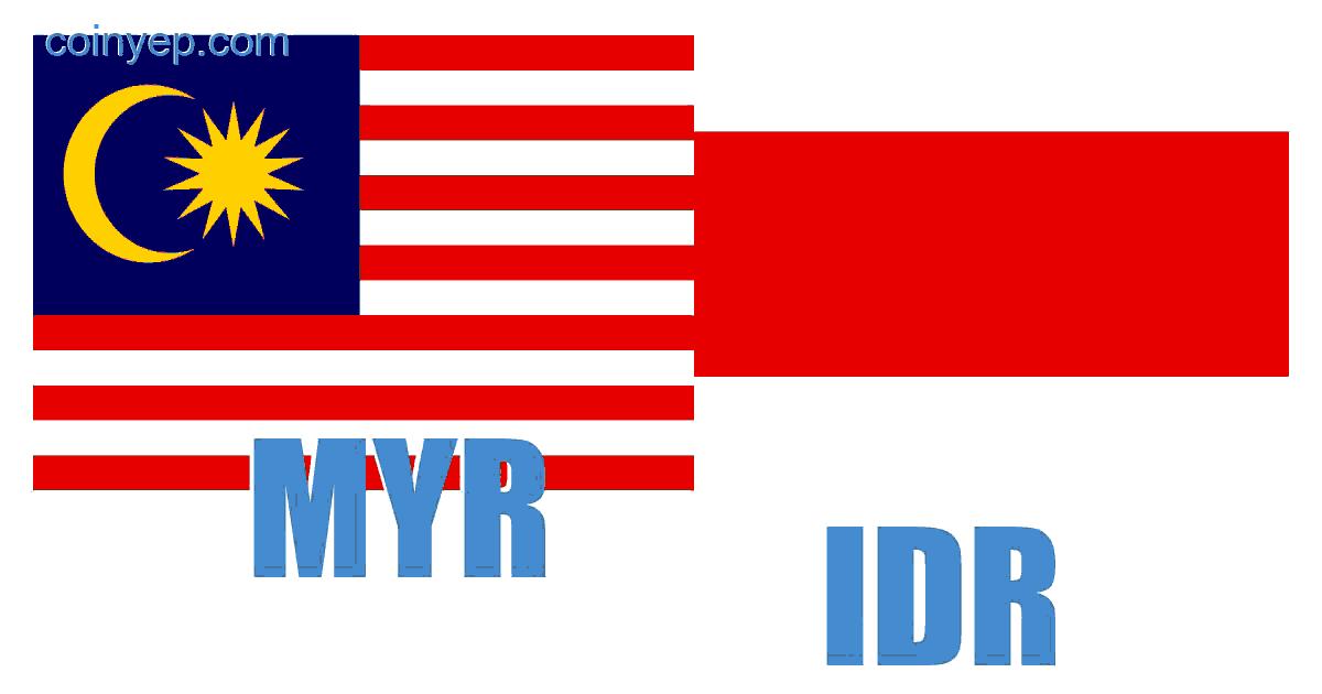 Ringgit Malaysia Rupiah Indonesia Myr Idr Kalkulator Penukaran Kadar Penukaran Mata Wang Coiny