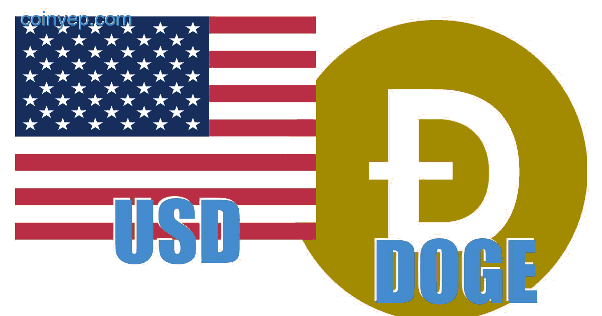 US dollar - Dogecoin (USD/DOGE) Free currency exchange rate ... on